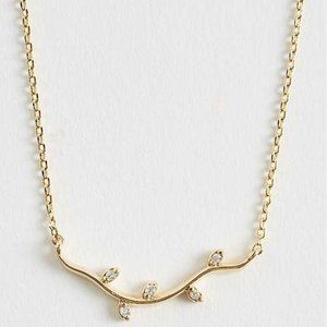 NEW NWT Altar'd State Olive Branch Necklace